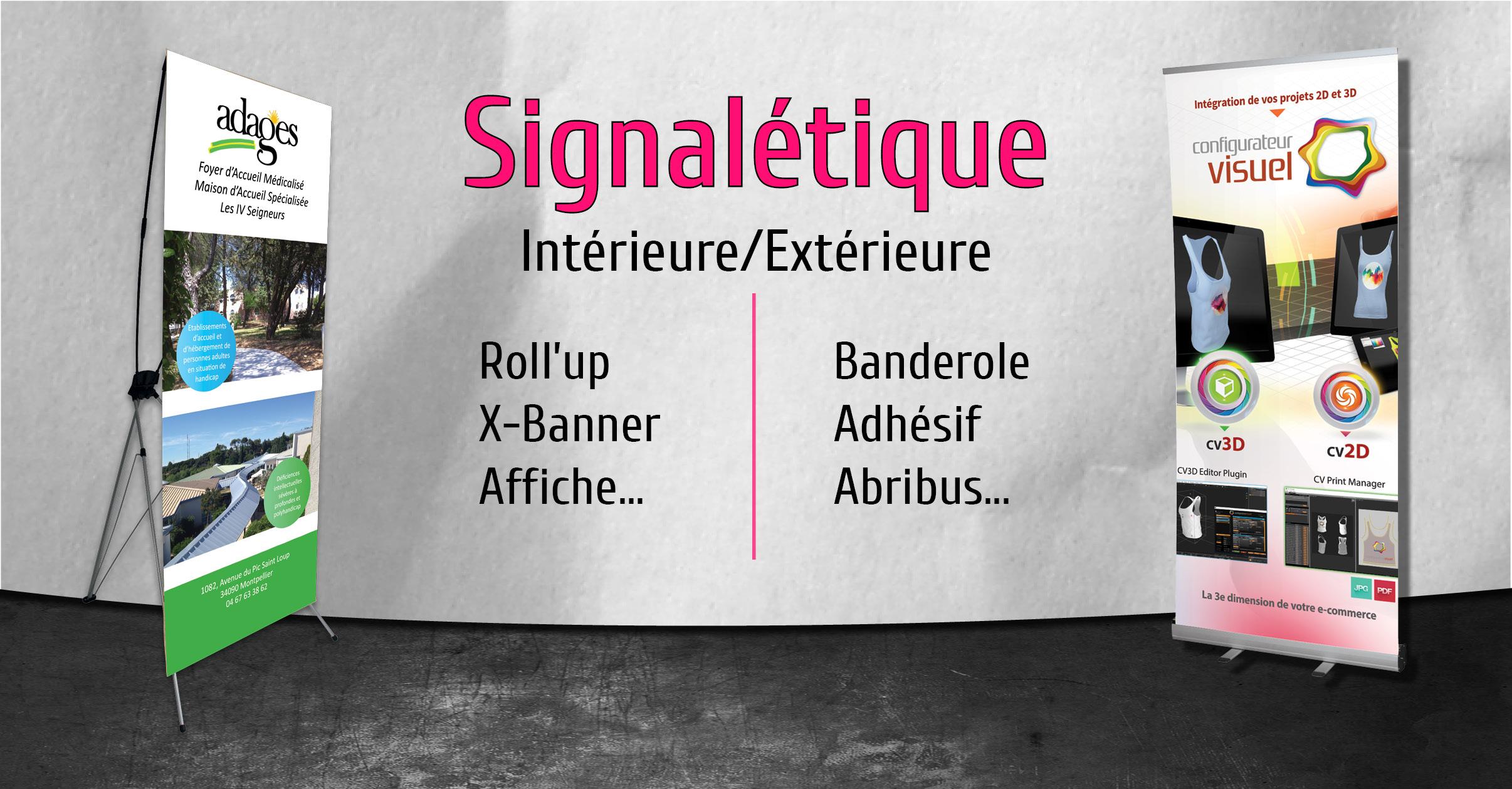 Signalétique Intérieure & Extérieure