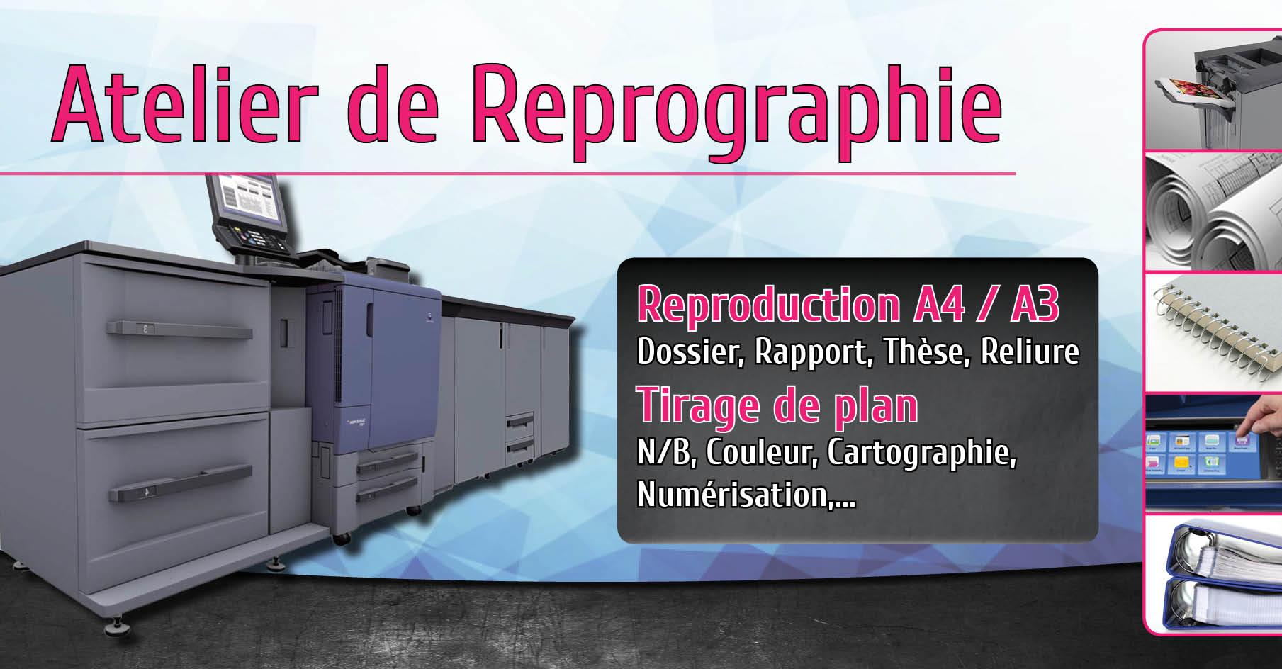 Atelier de Reprographie